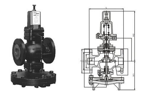 25p减压阀结构图