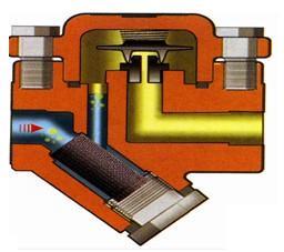 膜盒式疏水阀原理图